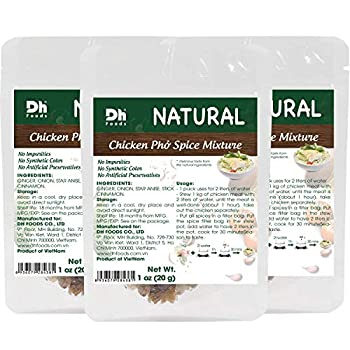 Dh Foods Pho Spice Packet   Chicken pho soup seasoning   Comes with spice filter bag   6 packs