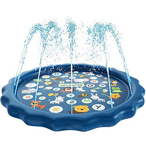 Queta Sprinkler Pad , Buchstabenmuster Kinder spielenpad, Garten Baby Spielzeug, wassermatte Kinder, Kinder erlebnis planschbecken.