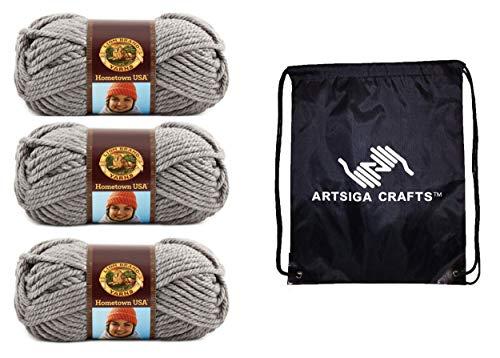 bolsa ovillos fabricante Lion Brand Knitting Yarn
