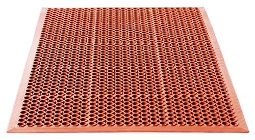 Miltex 16010Tappetino Yoga hygien, 90x 150cm, NBR, Rosso