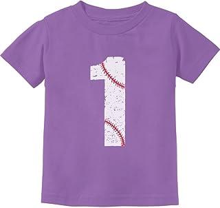 Tstars - Baseball 1st Birthday Gift for One Year Old Infant Kids T-Shirt