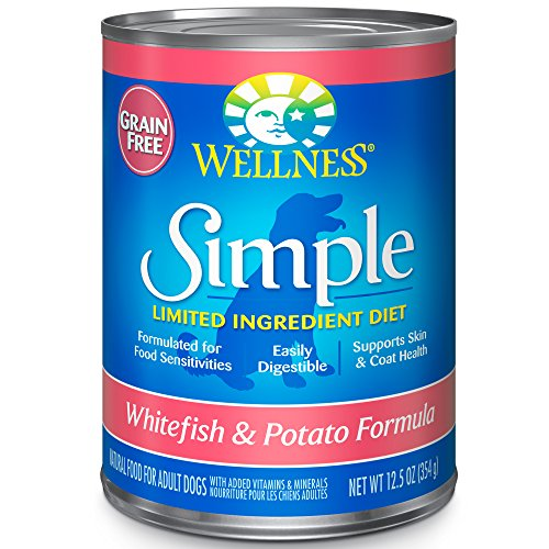 Wellness Simple Natural Grain Free Wet Canned...