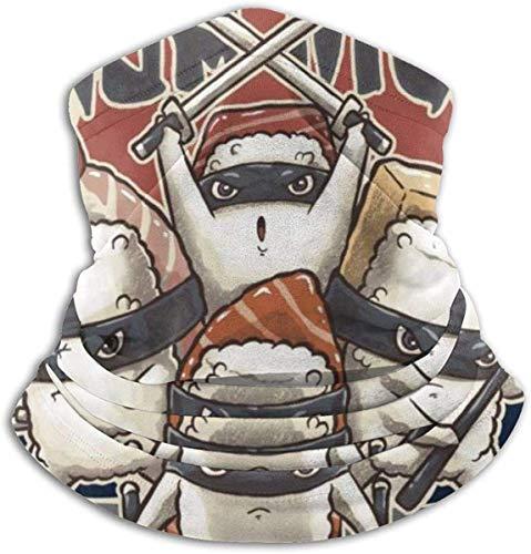 Sword Dynasty Ninja Nigri mit Text Face Cover Bandanas für Staub, Outdoor, Festivals, Sport