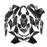 ZXMOTO Glossy Black Painted Mold Injection Fairing Kit BodyWork for KAWASAKI Z1000 2010 2011 2012 2013