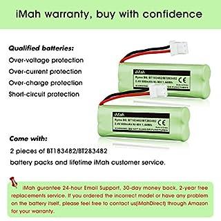 شراء 2-حزمة iMah Ryme B6 BT183482 BT283482 بطارية