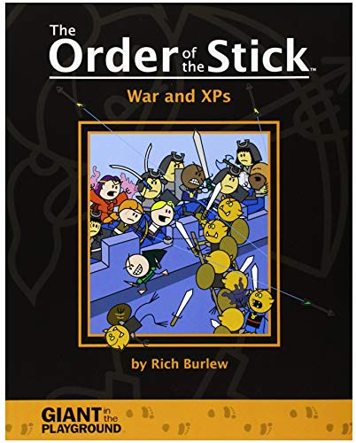 The Order of the Stick: War and XPs