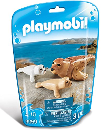 Playmobil 9069 - Robbe mit Babys