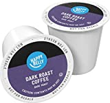 Amazon Brand - 100 Ct. Happy Belly Dark Roast Coffee Pods, Compatible with Keurig 2.0 K-Cup Brewers