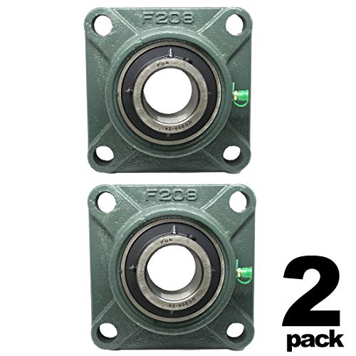 1 inch 4 Bolts Pillow Block Flange Bearing,UCF205-16,Self-Alignment 10 Pieces Brand New