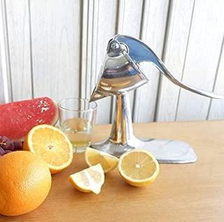 Aluminium Manual Citrus Juicer -FREE IceScoop- Manual Orange Squeezer. lemon, lime juicing. hand press juicer