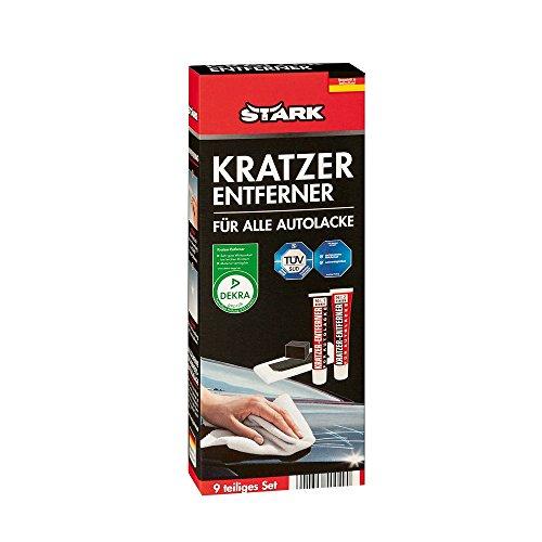 STARK 40040 Kratzer-Entferner-Set für Autolacke, 9 Teilig