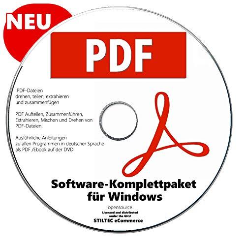 PDF Paket PREMIUM für Windows 10 ® WINdows 7+WINdows 8 +Vista +XP Ersteller Konvertierer NEUWARE