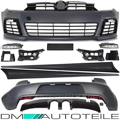 DM Autoteile GOLF 6 VI R R20 Bodykit Stoßstange Vorne Hinten Seitenschweller Tagfahrlicht
