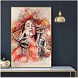DNJKSA Mariah Carey Kunstdruck Leinwand Poster Kunstdruck
