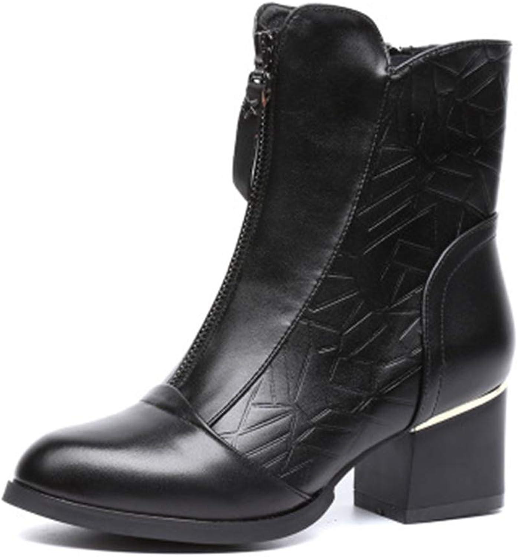 MINIKATA Women's Heritage Western R Toe Western Cowboy Boot