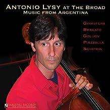 Antonio Lysy at the Broad by Alberto Ginastera (2011-06-28)