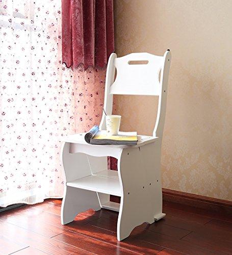 CAIJUN Stühle Sitze Zurück Treppen 4-stöckiger Hocker Falten Regal, Höhe 86cm, 3 Farbe Optional (Farbe : A)