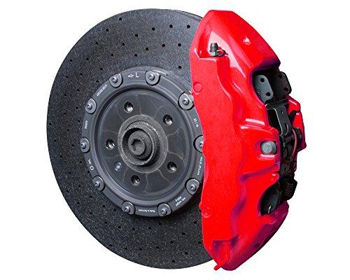Foliatec FT2185 Bremssattellack Motorlack Set Neon Rot Bremssattel Reiniger