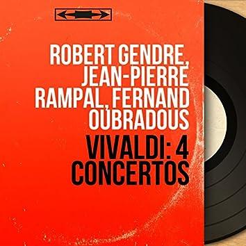Vivaldi: 4 Concertos (Mono Version)
