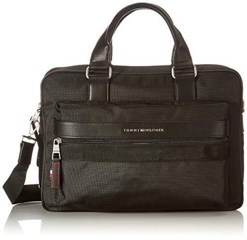 Tommy Hilfiger Herren ELEVATED NYLON Tasche, Black, One Size