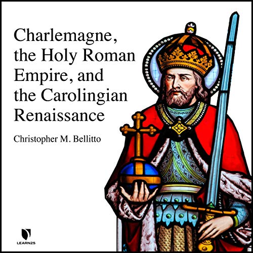 Diseño de la portada del título Charlemagne, the Holy Roman Empire, and the Carolingian Renaissance