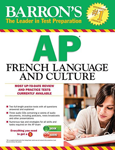 Barron\'s AP French Language and Culture with MP3 CD (Barron\'s AP French (W/CD))