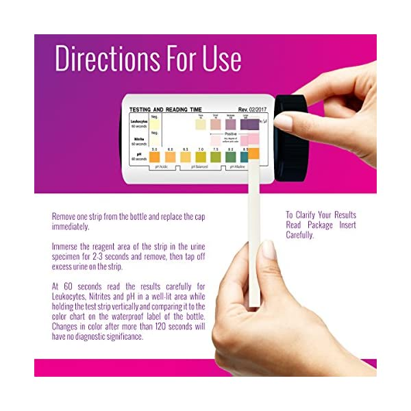 buy  Nurse Hatty – UTI Test Strips 50ct. (2 ... Diabetes Care