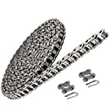 Jeremywell 35 SS Stainless Steel Roller Chain 10 Feet with 2 Connecting Links