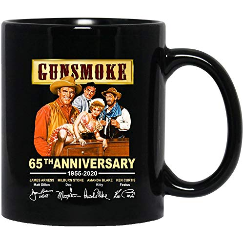 Amirna #Gunsmoke 65th Anniversary 1955-2020 cast Signed Matt Kitty Doc Festus Mens Womens Mugs Cups Coffee