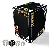 Yes4All 3-in-1 Foam Plyo Jumping Box - High Density PE Foam & PVC