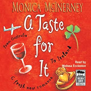 A Taste for It                   By:                                                                                                                                 Monica McInerney                               Narrated by:                                                                                                                                 Melissa Eccleston                      Length: 10 hrs and 18 mins     12 ratings     Overall 3.9