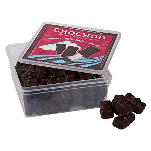 Marshmallows mit Zartbitterschokolade überzogen - 1 kg