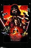 Trends International Star Wars Villains Wall Poster 22.375' x 34'