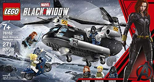 Playset Marvel Avengers Black Widow's Helicopter Chase