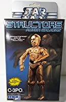1984Star Wars structorsアクションWalkers Wind Up c-3poモデルキット