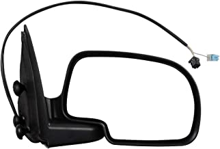 SCITOO Side View Mirror Passenger Side Mirror Fit Compatible with 2003-2006 Chevy Silverado Pickup 2007 Chevy Silverado 2003-2006 Chevy Tahoe 2003-2006 Chevy Suburban/Avalanche GM1321230