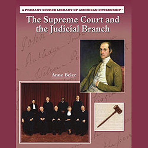 The Supreme Court and the Judicial Branch audiobook cover art