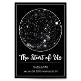 Custom Personalized Star Constellation Map, The...