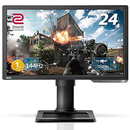 BenQ ゲーミングモニター ディスプレイ ZOWIE XL2411P 24インチ/フルHD/HDMI,DP,DVI端子/144Hz/1ms/ブルー...
