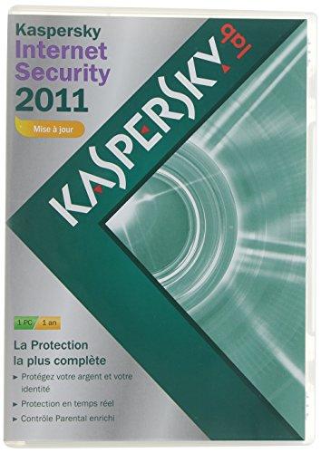 Kaspersky internet security 2011 - Mise à jour (1 poste, 1 an)