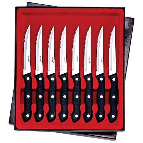 Maxam 8 Piece Serrated Steak Knife Set