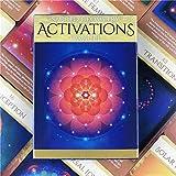 Cartas Tarot Activaciones De GeometríA Sagrada Oracle Cards Deck Table Games Divertidos Juegos De...