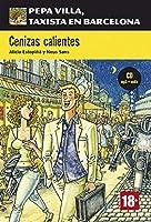 Pepa Villa, taxista en Barcelona: Cenizas calientes + CD (Nivel B1)
