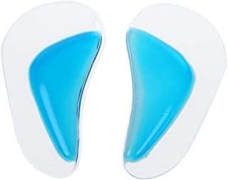 1 Pair Flat Foot Arch Orthotic Support Shoe Insole Silicone Pads Cushion Insert Size L