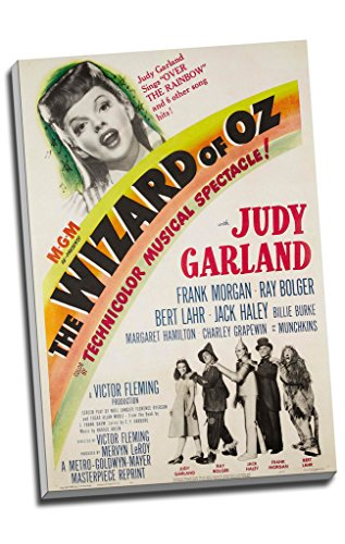 Judy Garland Wizard Of Oz Movie Canvas Print Wall Art Picture Canvas Prints Large A1 30 X 20 Inches (76.2Cm X 50.8Cm)