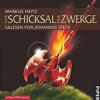 Das Schicksal der Zwerge     Die Zwerge 4              Autor:                                                                                                                                 Markus Heitz                               Sprecher:                                                                                                                                 Johannes Steck                      Spieldauer: 12 Std. und 4 Min.     2.033 Bewertungen     Gesamt 4,7