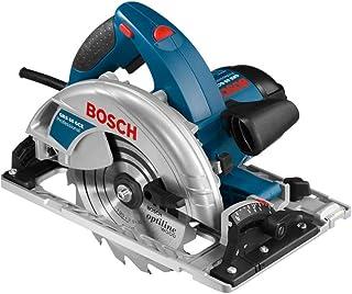 Bosch Professional handhållen cirkelsåg GKS 55+ G (1200W, med 1x sågklinga, insexnyckel, styrskena, dammsugaradapter, i ...