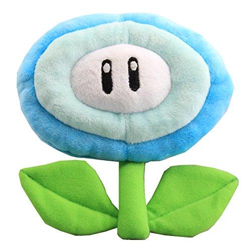 uiuoutoy Super Mario Bros. Ice Flower Plush 7''