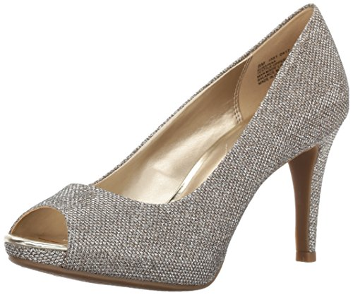 Bandolino Footwear Women's Rainaa Pump, Gold Glamour, 5