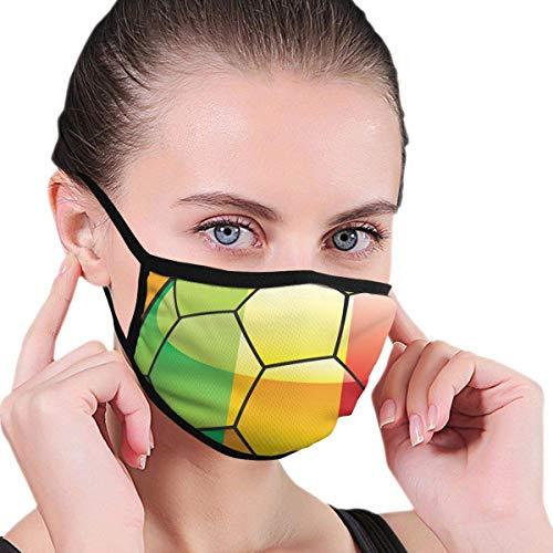 DOKEVFOB Anti-Staub-Maske Skimaske Wintermaske Storch mit Kindermuster für Kinder Teenager Männer Frauen